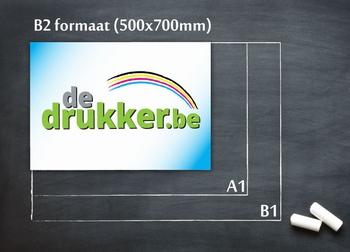 B2 affiches - OFFSET DRUK