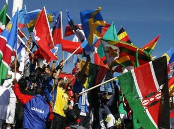 Vlaggen van niet europese landen