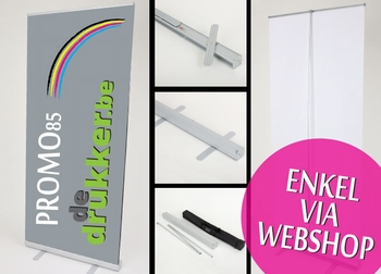 PROMO polyester Rollup 85x200cm