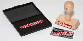 Houten stempel rechthoek (15x75mm)