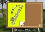 A1 FLUO Affiche